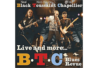 Neil Black, Nico Wayne Toussaint, Fred Chapellier - Live And More... [CD]