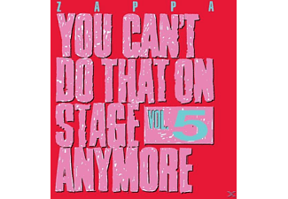 Frank Zappa - You Can't Do That On Stage Anymore Vol.5 - (CD)