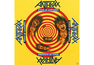 Anthrax - STATE OF EUPHORIA - (CD)