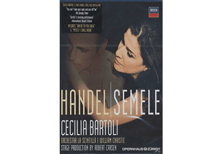 William Christie, Bartoli,Cecilia/La Scintilla/Christie,William - Semele (Blu-Ray) - (Blu-ray)