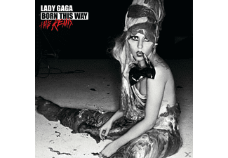 Lady Gaga - Born This Way-The Remix [CD]
