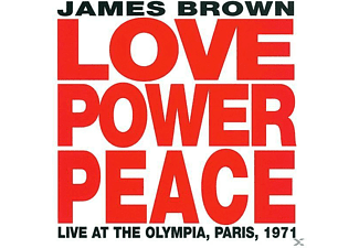 James Brown - LOVE POWER PEACE LIVE AT THE OLYMPIA PARIS 1971 - (CD)