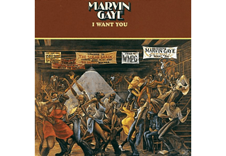 Marvin Gaye - I Want You - (CD)
