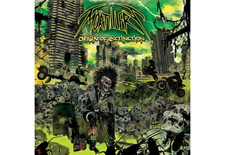 Mortillery - Origin Of Extinction (Ltd.First Edt.+3 Bonus Tr.) [CD]