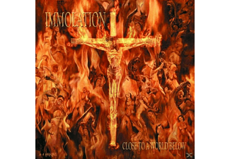 Immolation - CLOSE TO A WORLD BELOW - (CD)