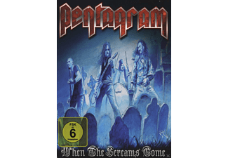 Pentagram - WHEN THE SCREAMS COME [DVD]