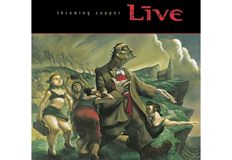 Live - Throwing Copper - (CD)