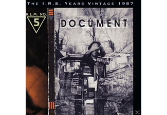 R.E.M. - DOCUMENT - (CD)