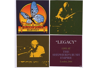 John's Barclay James Harve Lee, J. Barclay James Harvest/lees - Legacy-Live 2006 - (CD)