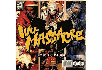 Method/rae/various Ghost, Ghost And Rae Meth - Wu Massacre [CD]