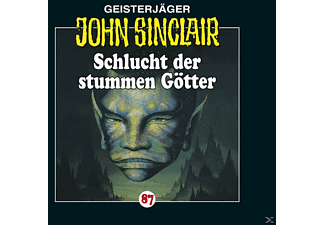 John Sinclair 87: Schlucht der stummen Götter - 1 CD - Horror