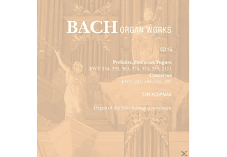 Ton Koopman - Organ Works-Complete [CD]