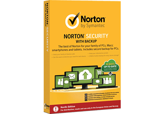 SYMANTEC UE Norton Security Backup 25 GB 1 Användare, 10 Enheter