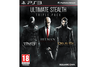 Ultimate Stealth Pack - Thief, Hitman: Absolution, Deus Ex: Human Revolution PS3