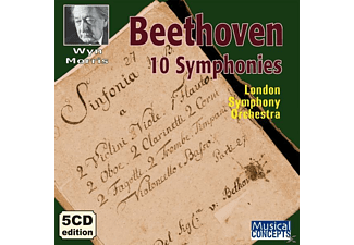 Christopher Ball, Tim Thorpe, Paul Arden-Taylor, Jonathan Burgess, Roger Armstrong, Leslie Craven, Emerald Concert Orchestra, Adderbury Ensemble - Beethoven 10 Sinfonien - (CD)