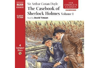 THE CASEBOOK OF SHERLOCK HOLMES 1 - 4 CD -
