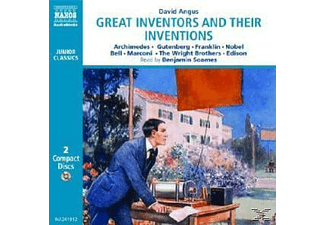 Great Inventors And Their Inventions - 2 CD - Kinder/Jugend