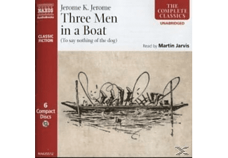 Three Men In A Boat - 6 CD - Humor/Satire