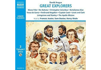 GREAT EXPLORERS - 2 CD - Kinder/Jugend