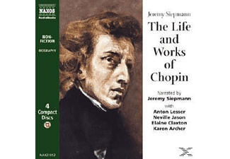 LIFE AND WORK OF CHOPIN - 4 CD - Hörbuch