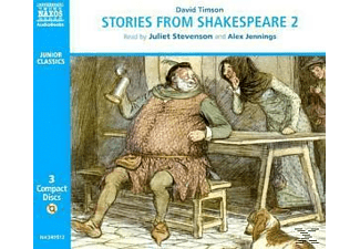STORIES FROM SHAKESPEARE 2 - 3 CD - Kinder/Jugend