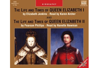 Life & Times Of Queen Elizabet - 6 CD - Hörbuch