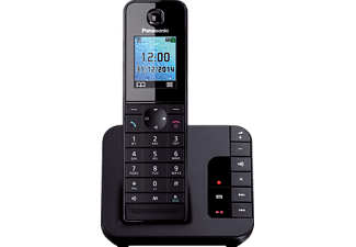 PANASONIC Téléphone sans fil Single set (KX-TGH220NLB)