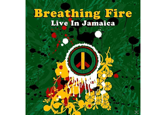 VARIOUS - Breathing Fire Live In Jamaica - (CD)