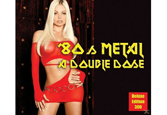 VARIOUS - 80's Metal-A Double Dose - (CD)