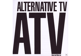 Alternative Tv - Black and white: Live - (CD)