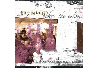 Boy Sets Fire - Before The Eulogy - (CD)