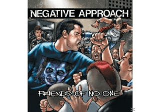 Negative Approach - Friends Of No One - (CD)