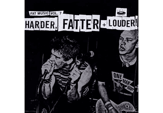 VARIOUS - Fat Music Vol.7:Harder,Fatter & Louder - (CD)