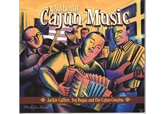 Jackie & The Cajun Cousins Caillier - Authentic Cajun Music - (CD)