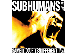 Subhumans - Same Thoughts Different Day - (Vinyl)