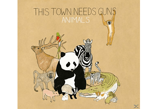 This Town Needs Guns - Animals - (CD)