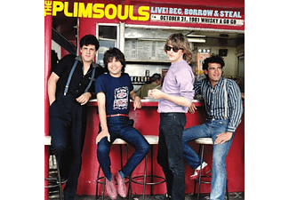 Plimsouls - Live! Beg, Borrow & Steal-1981 [CD]