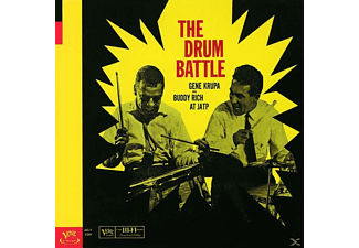 Krupa, Gene / Rich, Buddy - The Drum Battle - (CD)