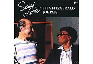 Ella Fitzgerald, Fitzgerald, Ella / Pass, Joe - SPEAK LOVE [CD]