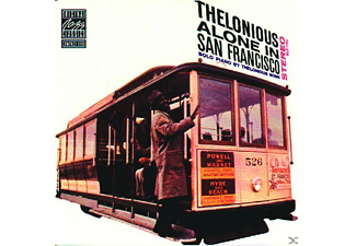 Thelonious Monk - THELONIOUS ALONE IN SAN FRANCISCO [CD]