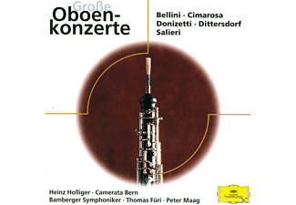 VARIOUS, Holliger/Demenga/Maag/Füri/BES - Virtuose Oboenkonzerte - (CD)