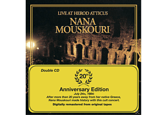 Nana Mouskouri - Live At Herod Atticus/20th Anniversary Edition - (CD)