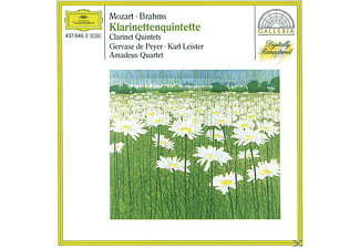VARIOUS, Peyer/Leister/Amadeus Quartett - Klarinettenquintette.Kv 581/H-Moll - (CD)