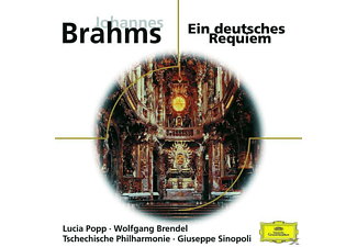 VARIOUS, Popp/Brendel/Sinopoli/TP - Ein Deutsches Requiem - (CD)