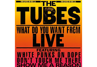 The Tubes - What Do You Want From Live - (CD)
