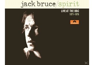 Jack Bruce - Spirit-Live At The Bbc 1971-1978 [CD]