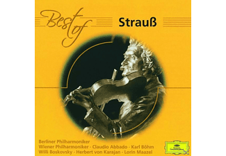 VARIOUS, Abbado/Maazel/Boskovsky/Karajan/WP/BP - Best Of Johann Strauß [CD]