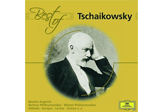 Martha Argerich, Abbado/Karajan/Levine/BP/+ - BEST OF TSCHAIKOWSKY [CD]