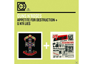 Guns N' Roses - 2 For 1: Appetite For Destruction/G N'r Lies [CD]