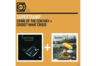 Supertramp - 2 For 1: Crime Of The Century/Crisis? What Crisis? - (CD)
